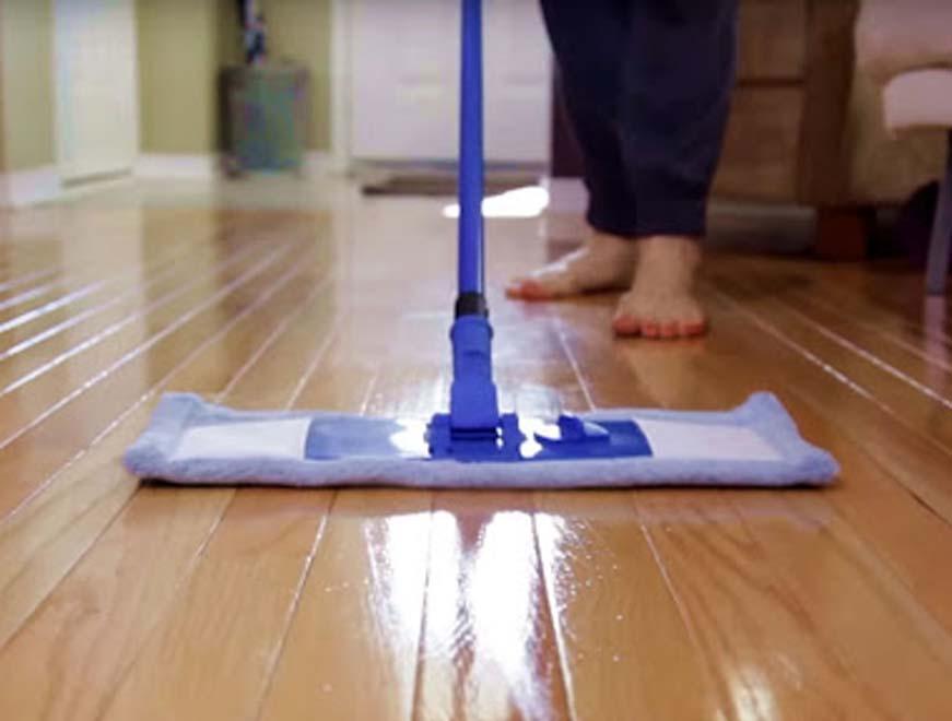 Phương pháp bảo dưỡng sàn nhựa giả gỗ bền, đẹp như mới