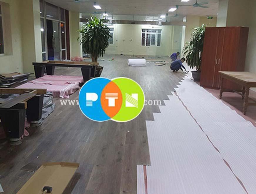 Cung cấp, thi công sàn nhựa tại Uông Bí, Quảng Ninh