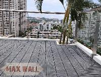 Khách sạn New Center Hạ Long - Công trình thi công sàn nhựa ngoài trời bể bơi