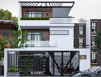Mẫu nhà 3 tầng mái bằng đẳng cấp ưa chuộng nhất hiện nay