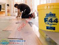 Lắp đặt sàn nhựa giả gỗ
