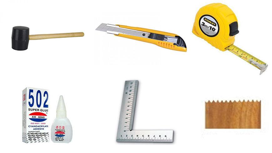 dụng cụ để thi công sàn nhựa tự dính