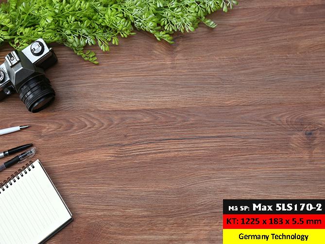 Sàn nhựa hèm khoá MaxFloor 5LS170-5