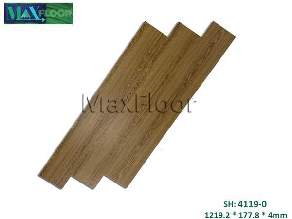 Sàn nhựa hèm khóa Max Floor 4119-0