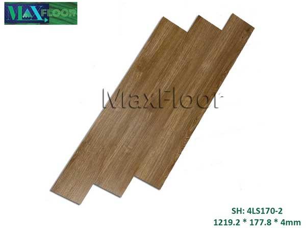 Sàn nhựa hèm khóa Max Floor 4LS170-2
