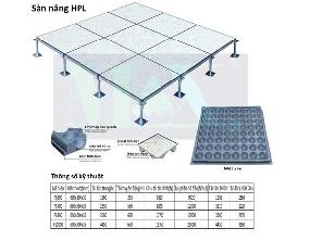 Sàn nâng kỹ thuật HPL
