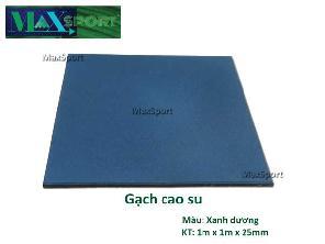 Gạch Cao Su Blue