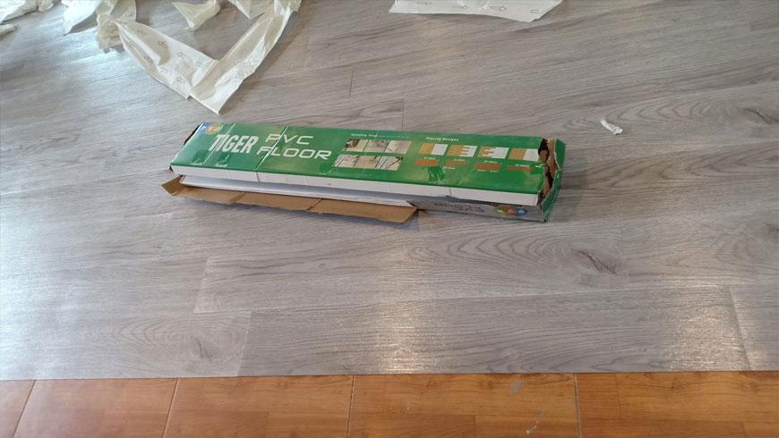 sàn gỗ nhựa dán keo