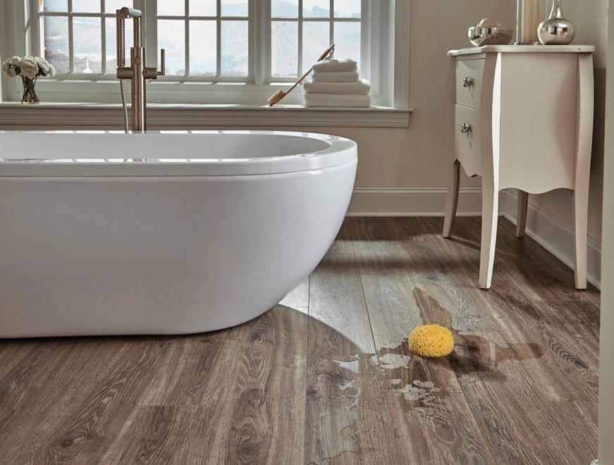 Sàn nhựa trải sàn nhà tắm