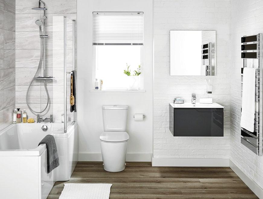 Cách chọn sàn nhựa nhà vệ sinh