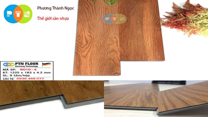 sàn nhựa giả gỗ hèm khóa