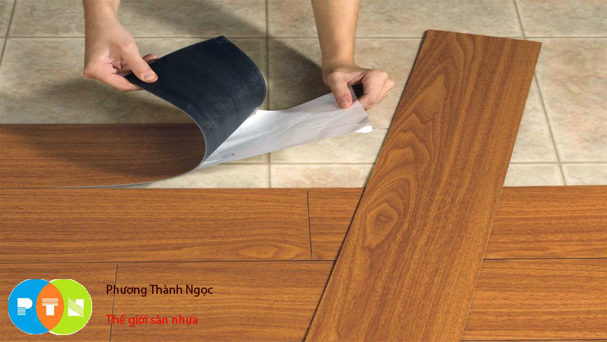 sàn nhựa tự dán
