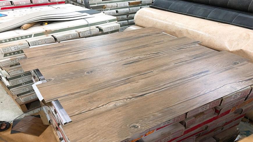 sàn nhựa vân gỗ 2mm