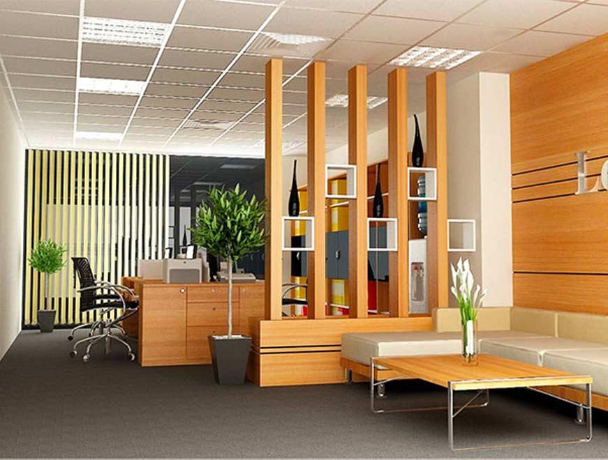 Sàn gỗ nhựa văn phòng