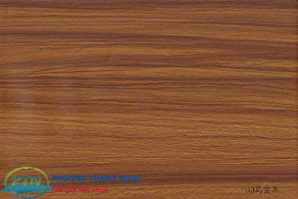 Màu tấm nhựa vân gỗ được khách hàng lựa chọn