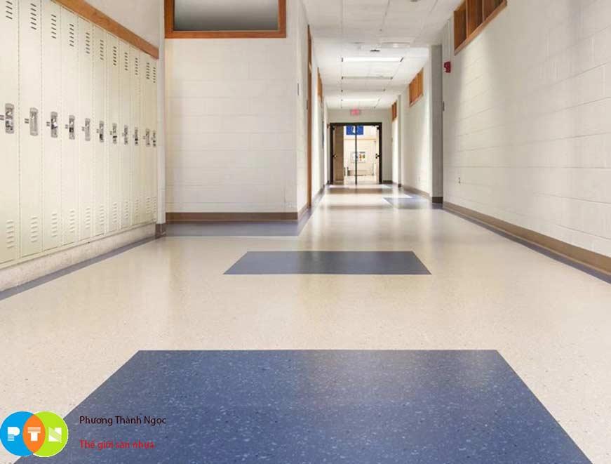 Sàn vinyl kháng khuẩn được sử dụng cho các bệnh viện lớn